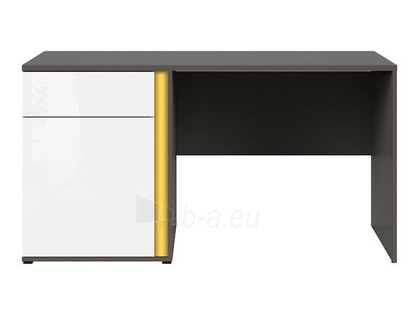 Rašomasis stalas Graphic BIU1D1SL/C pilkas/baltas Paveikslėlis 1 iš 11 310820213253
