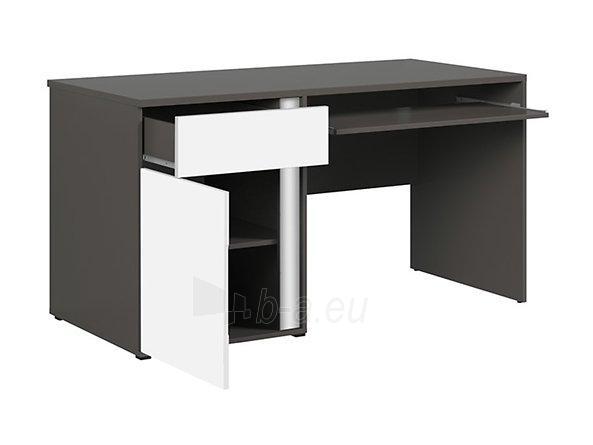 Rašomasis stalas Graphic BIU1D1SL/C pilkas/baltas Paveikslėlis 8 iš 11 310820213253