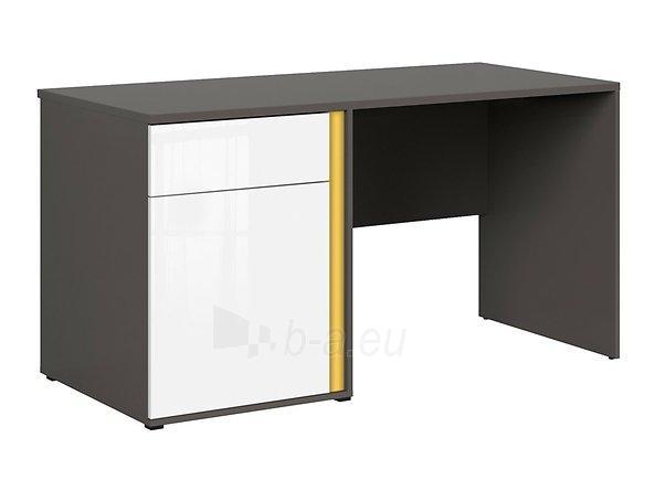 Rašomasis stalas Graphic BIU1D1SL/C pilkas/baltas Paveikslėlis 7 iš 11 310820213253