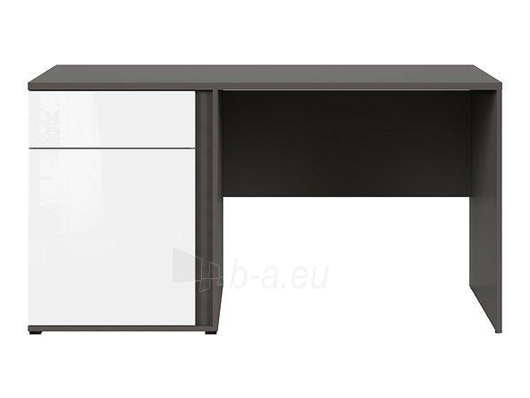 Rašomasis stalas Graphic BIU1D1SL/C pilkas/baltas Paveikslėlis 6 iš 11 310820213253