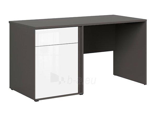 Rašomasis stalas Graphic BIU1D1SL/C pilkas/baltas Paveikslėlis 5 iš 11 310820213253
