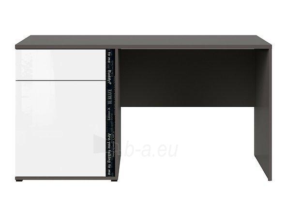 Rašomasis stalas Graphic BIU1D1SL/C pilkas/baltas Paveikslėlis 4 iš 11 310820213253