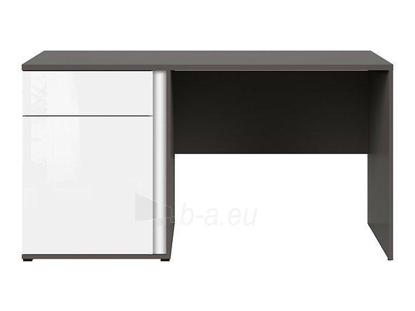 Rašomasis stalas Graphic BIU1D1SL/C pilkas/baltas Paveikslėlis 3 iš 11 310820213253
