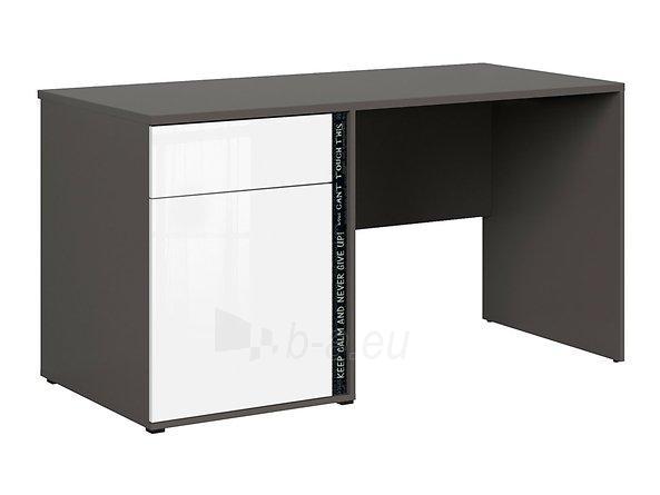 Rašomasis stalas Graphic BIU1D1SL/C pilkas/baltas Paveikslėlis 11 iš 11 310820213253