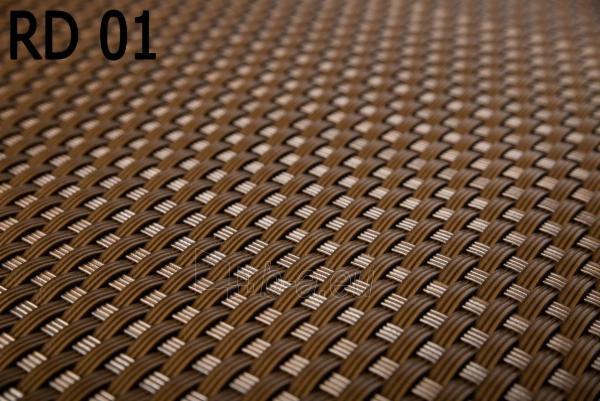 Juosta segmentinėms tvoroms 19x255cm, Rudos spalvos Paveikslėlis 4 iš 6 310820230742