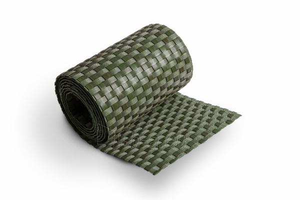 Juosta segmentinėms tvoroms 19x255cm, Žalios spalvos Paveikslėlis 3 iš 6 310820230743