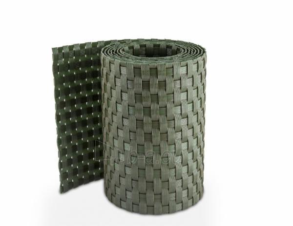 Juosta segmentinėms tvoroms 19x255cm, Žalios spalvos Paveikslėlis 4 iš 6 310820230743