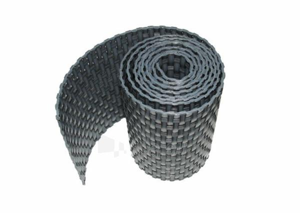 Juosta segmentinėms tvoroms 19x255cm, Pilkos spalvos Paveikslėlis 3 iš 7 310820230744