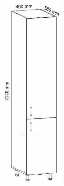 Pastatoma spintelė aukšta Linea D40SP Paveikslėlis 3 iš 3 310820243122