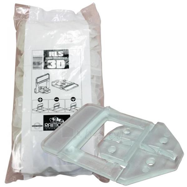 3D apkabos (1 mm) plytelėms 3-12 mm storio, 100 vnt. Paveikslėlis 1 iš 4 2377540000001