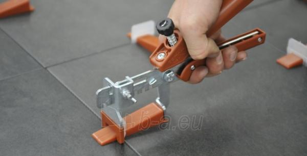 3D apkabos (1 mm) plytelėms 3-12 mm storio, 100 vnt. Paveikslėlis 3 iš 4 2377540000001