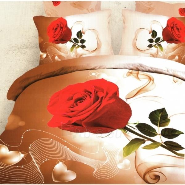 3D patalynės komplektas ''Rožės Melodija'', 6 dalių, 200x220 cm Paveikslėlis 1 iš 1 30115700125
