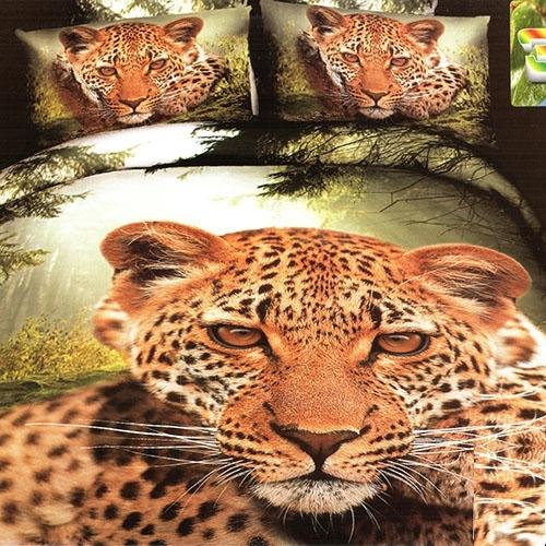 3D patalynes komplektas ''Žavingas Tigras'', 6 dalių, 200x220 cm Paveikslėlis 1 iš 1 30115700199