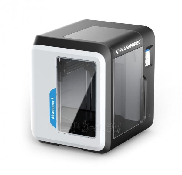 3D spausdintuvas FlashForge Adventurer 3 Paveikslėlis 2 iš 9 310820144545
