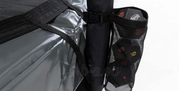 430cm Batutas su apsauginiu tinklu BERG Favorit Comfort Levels Gray (iki 600kg) Paveikslėlis 3 iš 7 310820176355