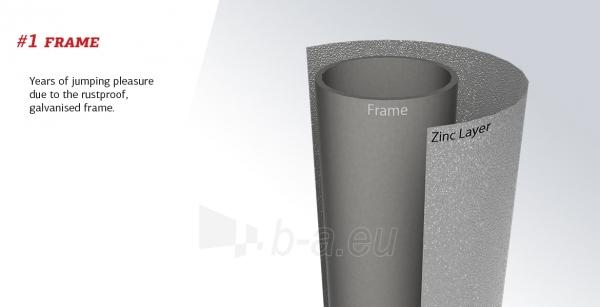 430cm Batutas su apsauginiu tinklu BERG Favorit Comfort Levels Gray (iki 600kg) Paveikslėlis 4 iš 7 310820176355