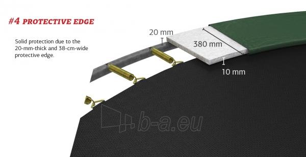 430cm Batutas su apsauginiu tinklu BERG Favorit Comfort Levels Gray (iki 600kg) Paveikslėlis 7 iš 7 310820176355