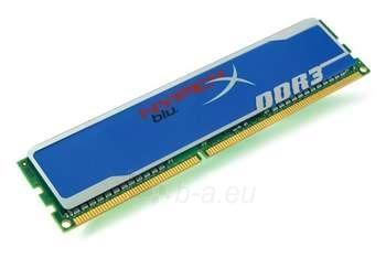 4GB 1333MHZ DDR3 NON-ECC CL9 DIMM HYPERX Paveikslėlis 1 iš 1 250255110545