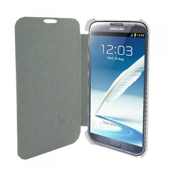 4World Apsauginiai dėklai Galaxy 2 pastaba, dirbtinė oda, Slim, 5.5, baltas Paveikslėlis 1 iš 5 310820014262