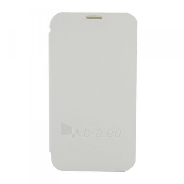 4World Apsauginiai dėklai Galaxy 2 pastaba, dirbtinė oda, Slim, 5.5, baltas Paveikslėlis 3 iš 5 310820014262
