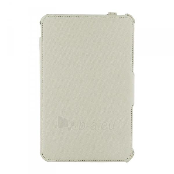 4World dėklas-stovas skirtas Galaxy Tab 2, nepralaidus vandeniui, 7, baltas Paveikslėlis 3 iš 5 310820014252