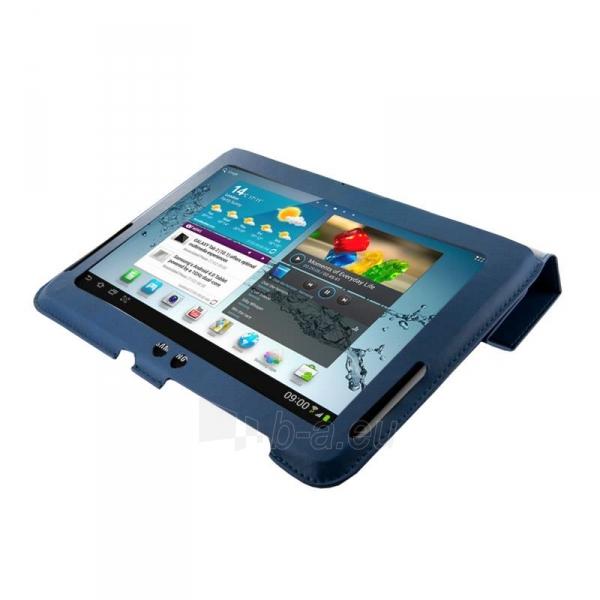 4World dėklas-stovas skirtas Galaxy Tab 2, plonas, 4-Fold Slim, 10, mėlynas Paveikslėlis 1 iš 5 310820014268