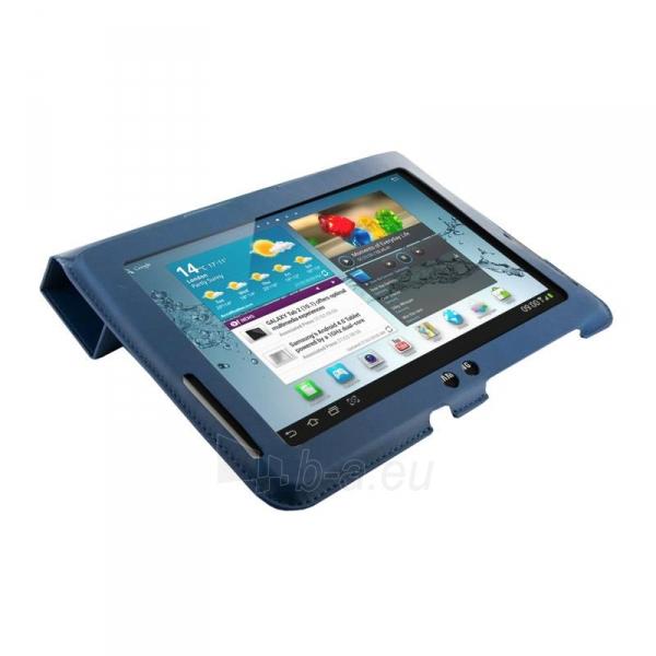 4World dėklas-stovas skirtas Galaxy Tab 2, plonas, 4-Fold Slim, 10, mėlynas Paveikslėlis 2 iš 5 310820014268