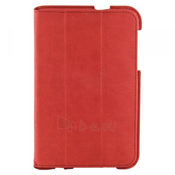 4World dėklas-stovas skirtas Galaxy Tab 2, plonas, 4-Fold Slim, 7, raudonas Paveikslėlis 3 iš 5 310820014250
