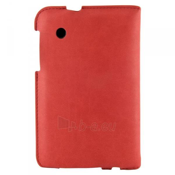 4World dėklas-stovas skirtas Galaxy Tab 2, plonas, 4-Fold Slim, 7, raudonas Paveikslėlis 4 iš 5 310820014250