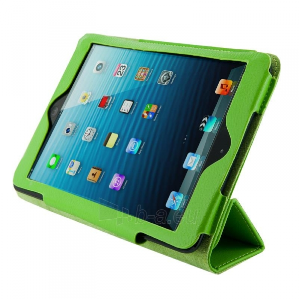 4World dėklas-stovas skirtas iPad Mini, Folded Case, 7, žalias Paveikslėlis 1 iš 5 310820014275