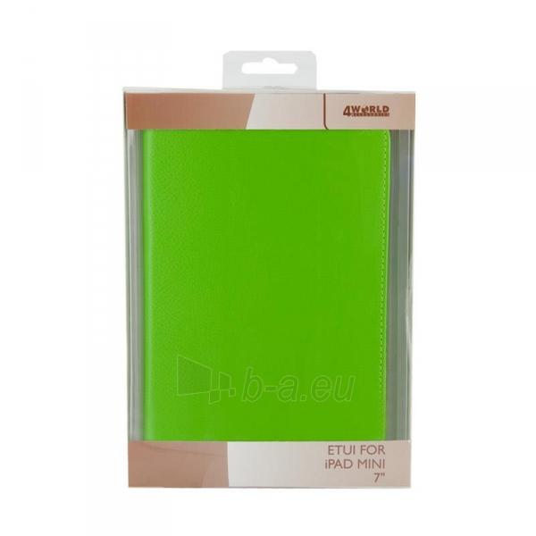 4World dėklas-stovas skirtas iPad Mini, Folded Case, 7, žalias Paveikslėlis 5 iš 5 310820014275