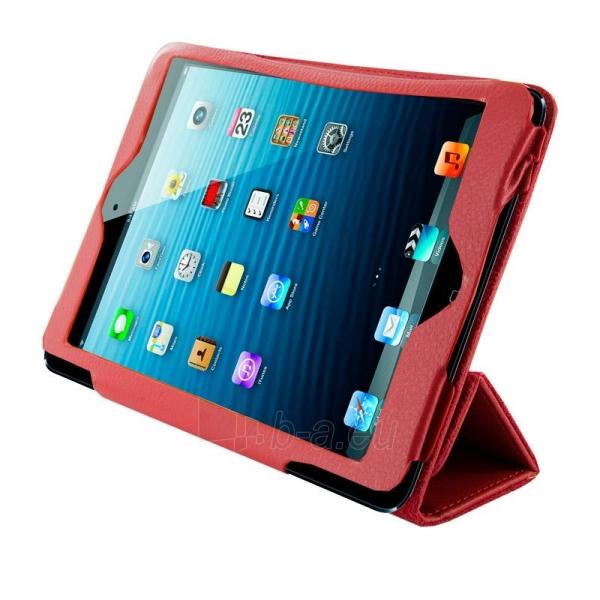 4World dėklas-stovas skirtas iPad Mini2, Folded Case, 7, raudonas Paveikslėlis 1 iš 5 310820014273