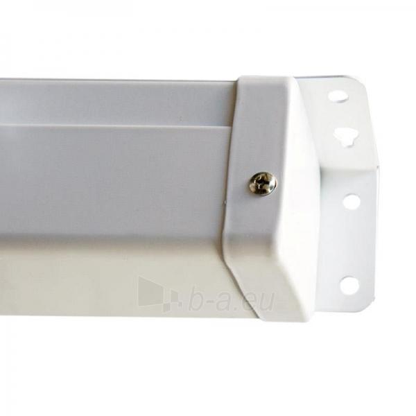 4World Elektrinis projektoriaus ekranas, remote, 140x140 (1:1) Matt White Paveikslėlis 2 iš 9 30058000068