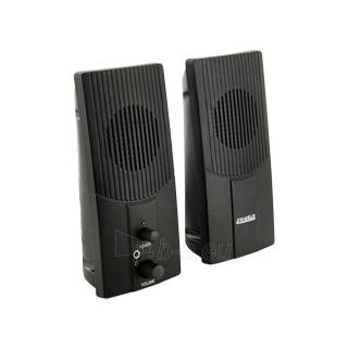 4World Kolonėlės 2.0 Stereo Power Sound Paveikslėlis 1 iš 5 250255800499