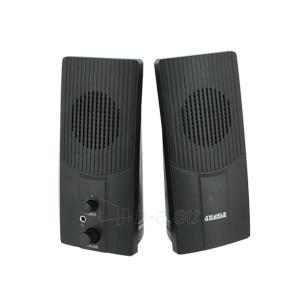 4World Kolonėlės 2.0 Stereo Power Sound Paveikslėlis 2 iš 5 250255800499