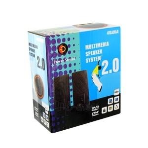 4World Kolonėlės 2.0 Stereo Power Sound Paveikslėlis 3 iš 5 250255800499