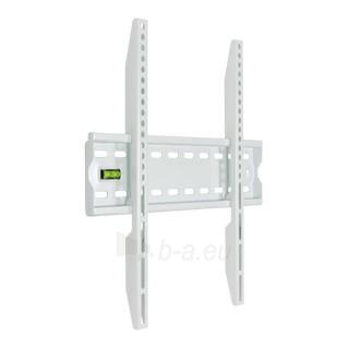4World LCD sieninis laikiklis 20''- 50'' fiksuotas, SLIM, TV svoris iki 50kg WHT Paveikslėlis 1 iš 2 250226200437