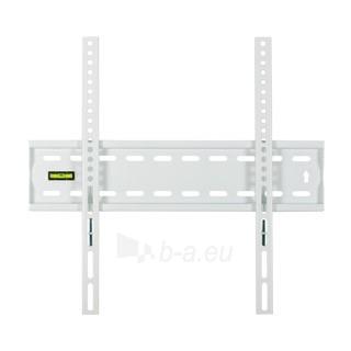 4World LCD sieninis laikiklis 20''- 50'' fiksuotas, SLIM, TV svoris iki 50kg WHT Paveikslėlis 2 iš 2 250226200437