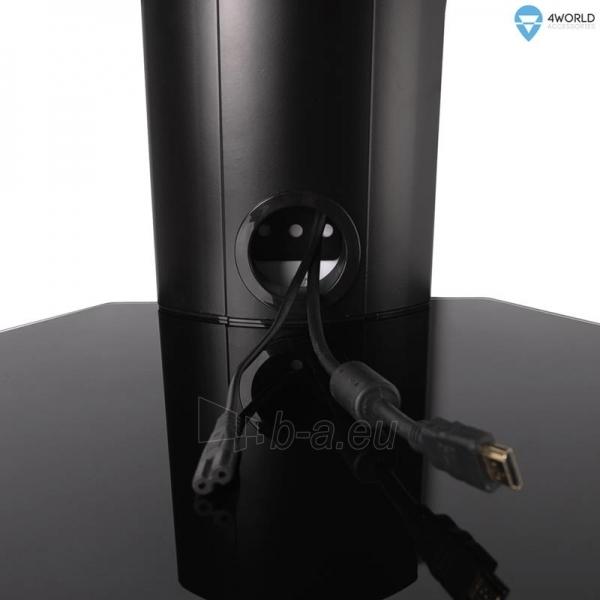 4World Sieninis  DVD/Blu-Ray grotuvo laikiklis, svoris iki 10kg BLK Paveikslėlis 5 iš 6 250226200571