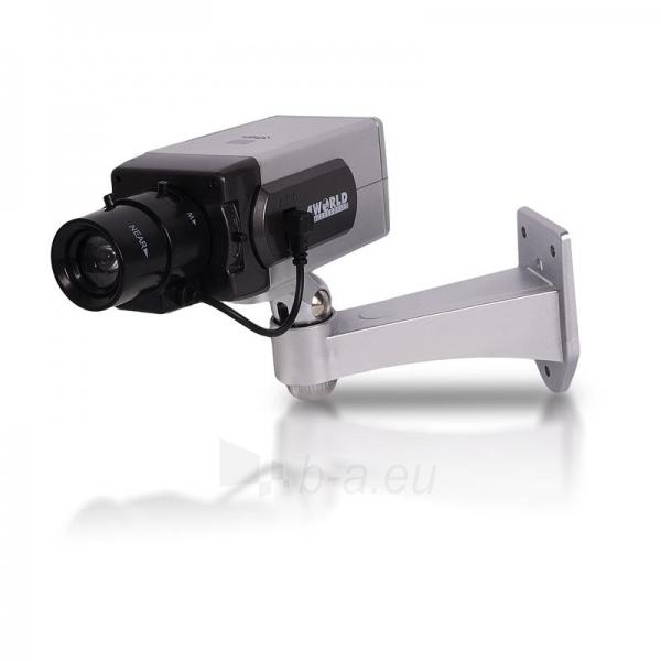 4World Stebėjimo kameros imitacija, vidinė/išorinė Paveikslėlis 1 iš 3 250243100603