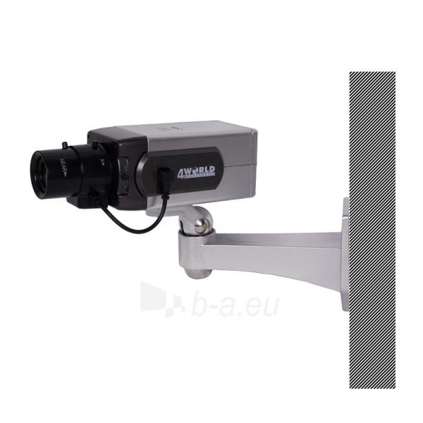 4World Stebėjimo kameros imitacija, vidinė/išorinė Paveikslėlis 2 iš 3 250243100603
