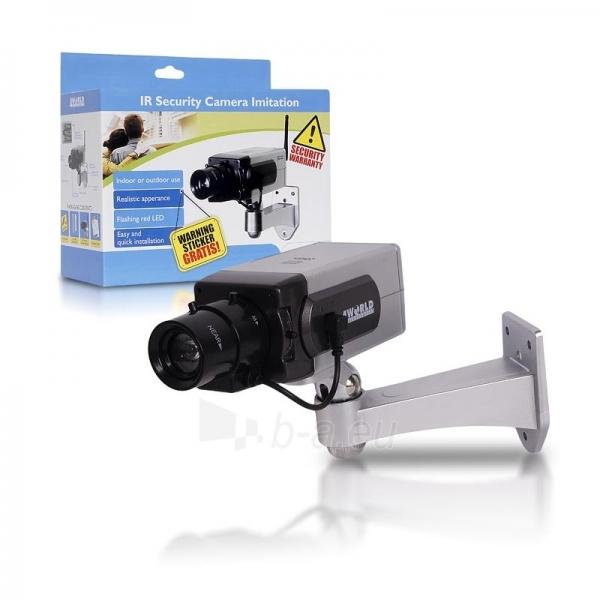 4World Stebėjimo kameros imitacija, vidinė/išorinė Paveikslėlis 3 iš 3 250243100603