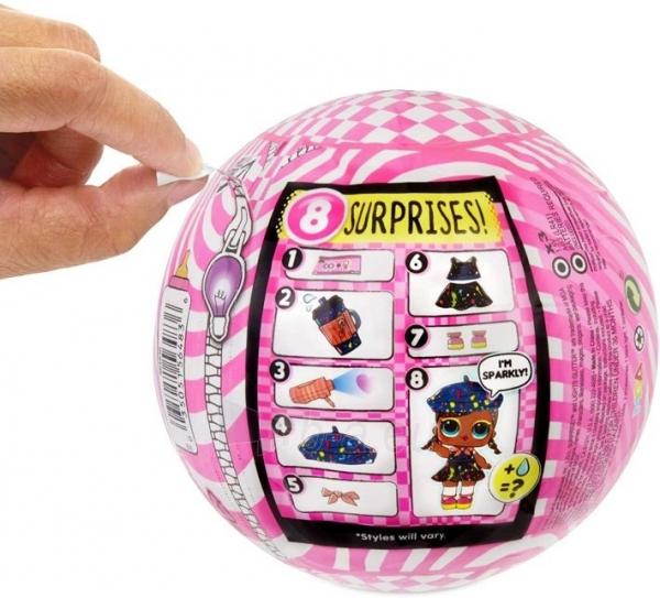 564836 L.O.L. Surprise! Collectable Fashion Dolls - With 8 MGA Paveikslėlis 3 iš 6 310820245917