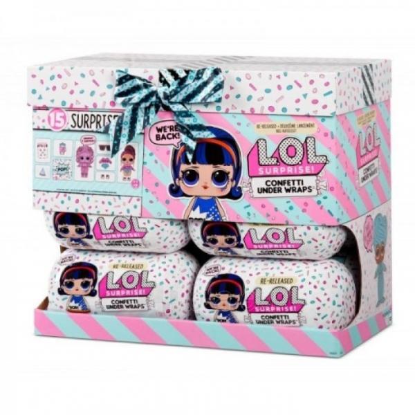 571469 L.O.L. MGA Surprise! Confetti Under Wraps L.O.L. 571476E7C Dolls Paveikslėlis 5 iš 6 310820245916