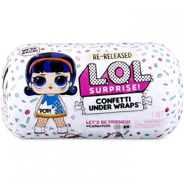 571469 L.O.L. MGA Surprise! Confetti Under Wraps L.O.L. 571476E7C Dolls Paveikslėlis 6 iš 6 310820245916