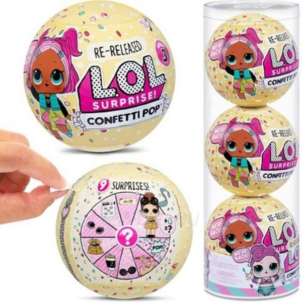 571957 L.O.L. Surprise Confetti OMG LOL Paveikslėlis 1 iš 6 310820252890