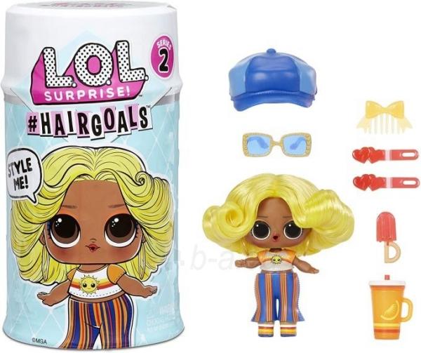 572657 LOL Surprise Hairgoals Series 2 - 15 Surprises Inside OMG L.O.L. Paveikslėlis 2 iš 6 310820252892
