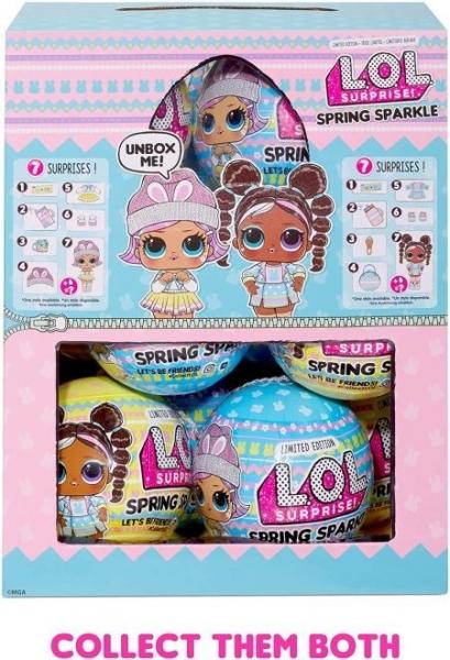 574460 L O L Surprise! Limited Edition Spring Sparkle L.O.L OMG Paveikslėlis 4 iš 6 310820252898