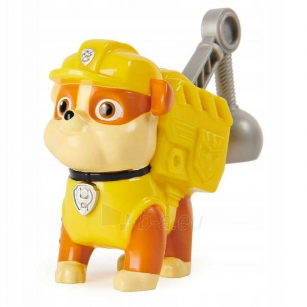 6022626 Spin Master PAW PATROL RUBBLE Sounds When You Press His Badge Paveikslėlis 2 iš 6 310820252818