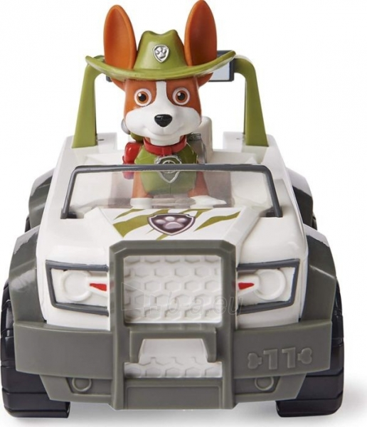 6052310 PAW Patrol Tracker's Jungle Cruiser Vehicle with Collectible Figure TRACKER SPIN MASTER Paveikslėlis 5 iš 6 310820252862